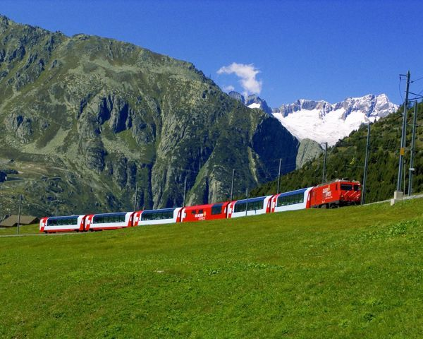 Busreis Cruise Glacier Express | Flamingo-busvakanties.be